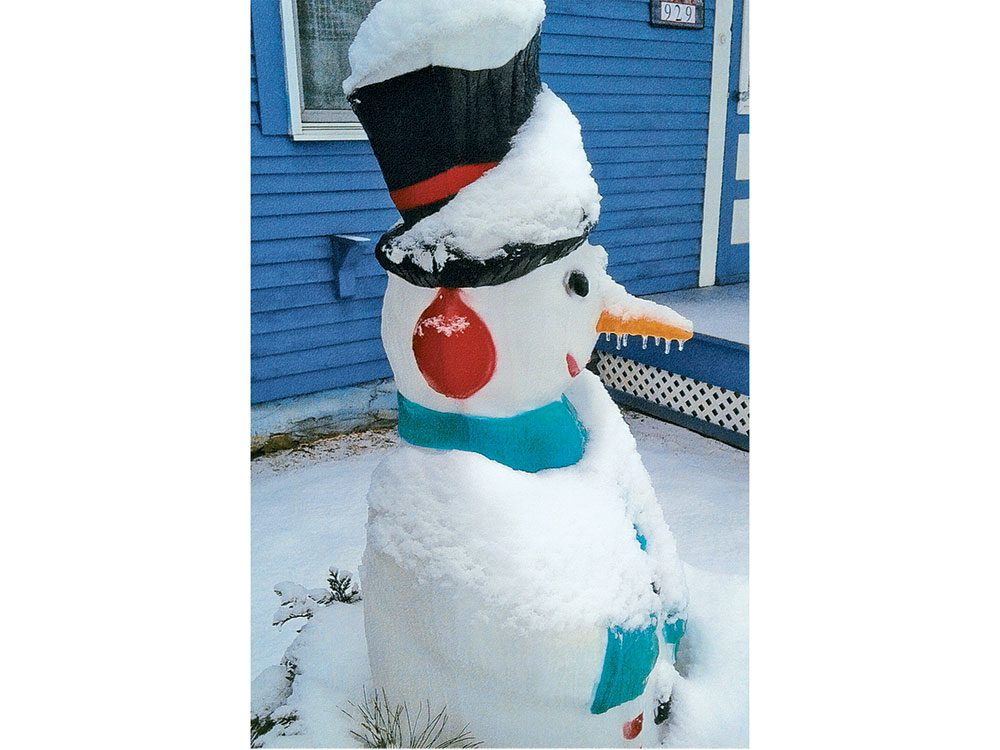 Caption Corner: Silly Snowman