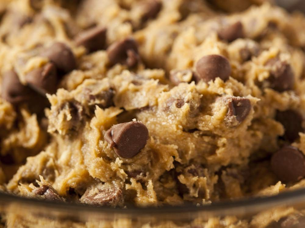 Chilled cookie dough