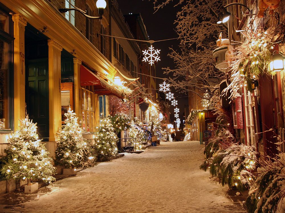 Christmas in Canada: Quebec City