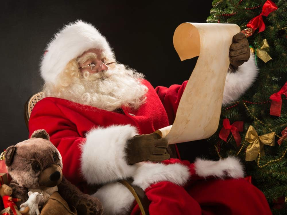 Santa Claus reading list