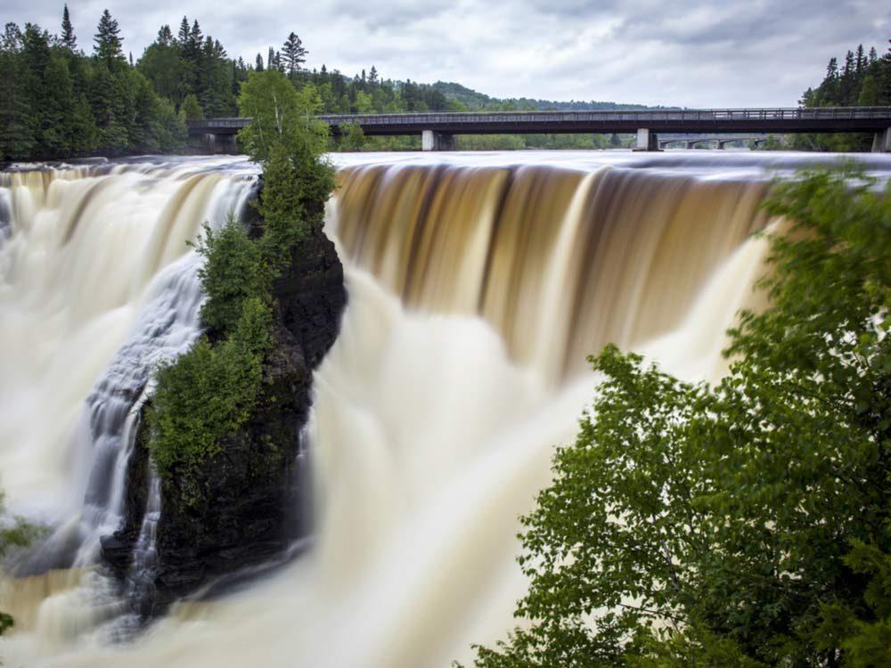 Waterfall in Thunder Bay
