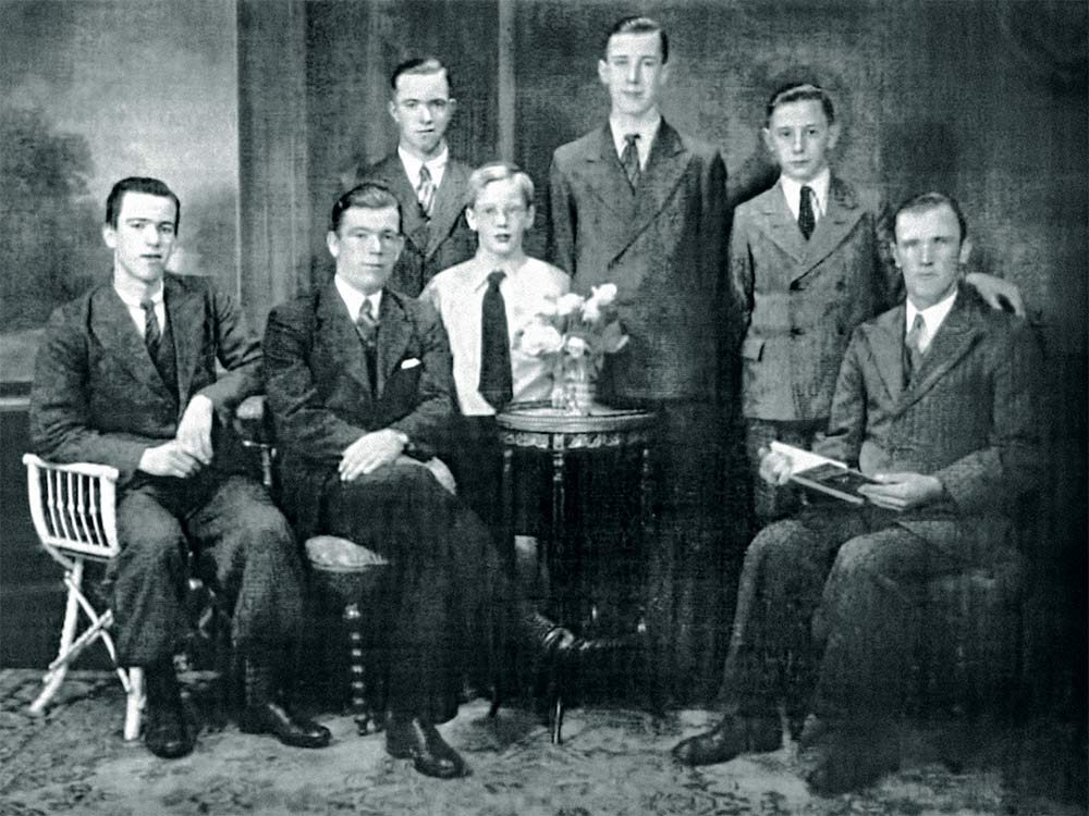 Broerse Family before the Second World War