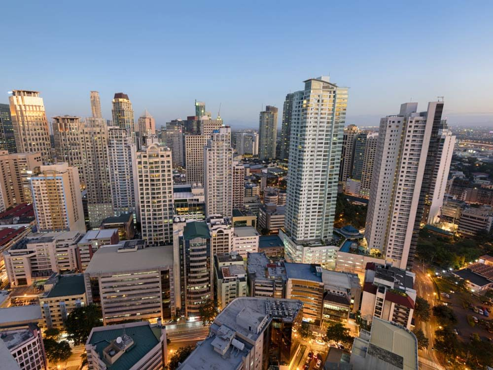 Makati City in the Philippines