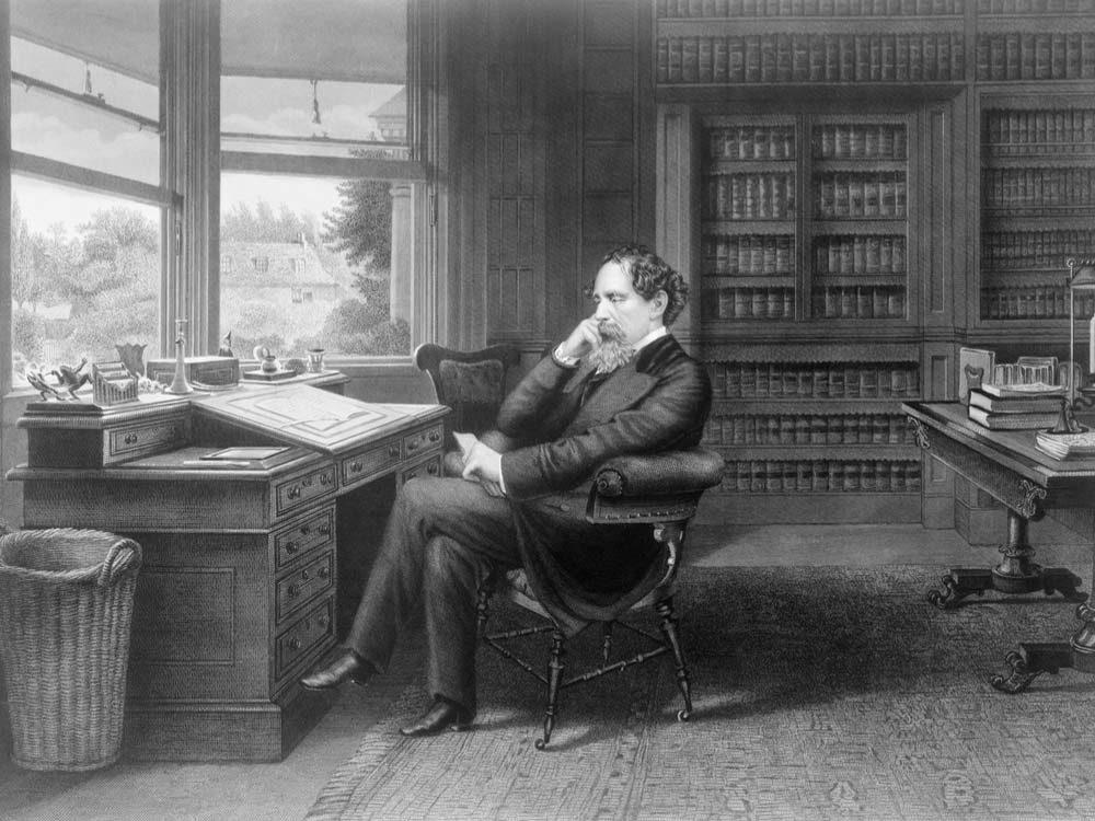 Charles Dickens illustration