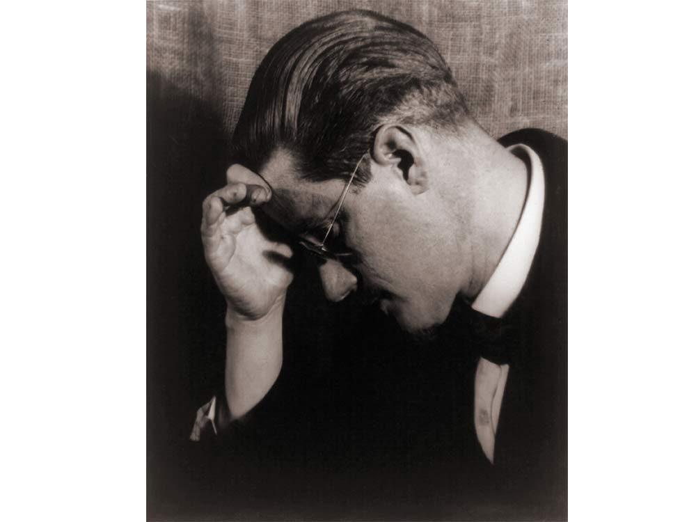 James Joyce close-up