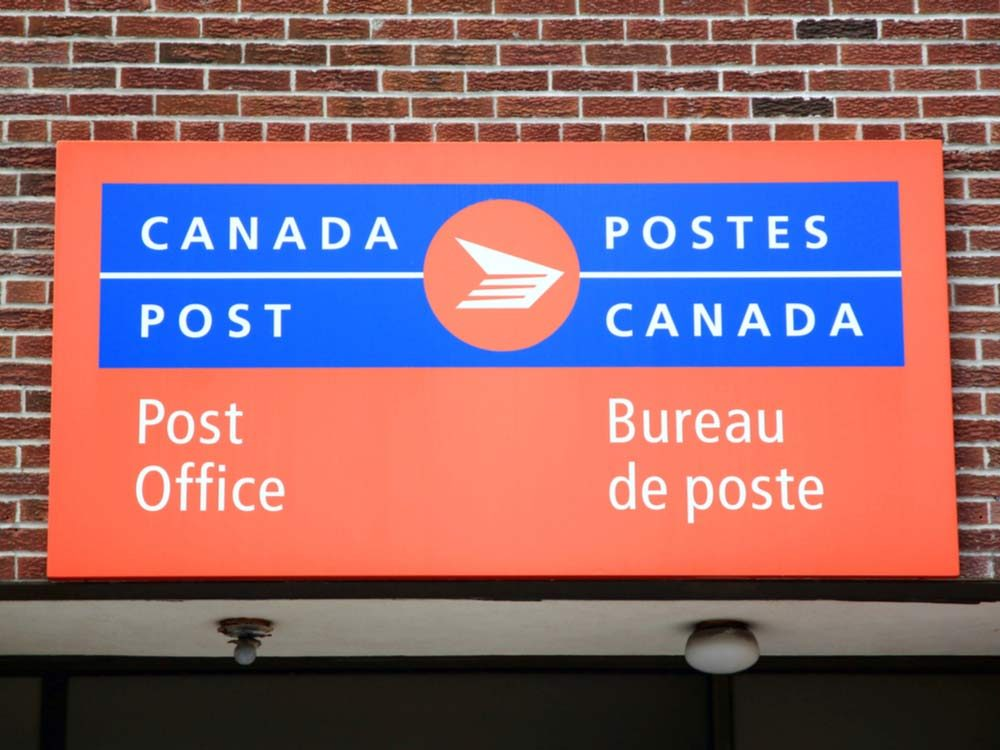 Canadian post office