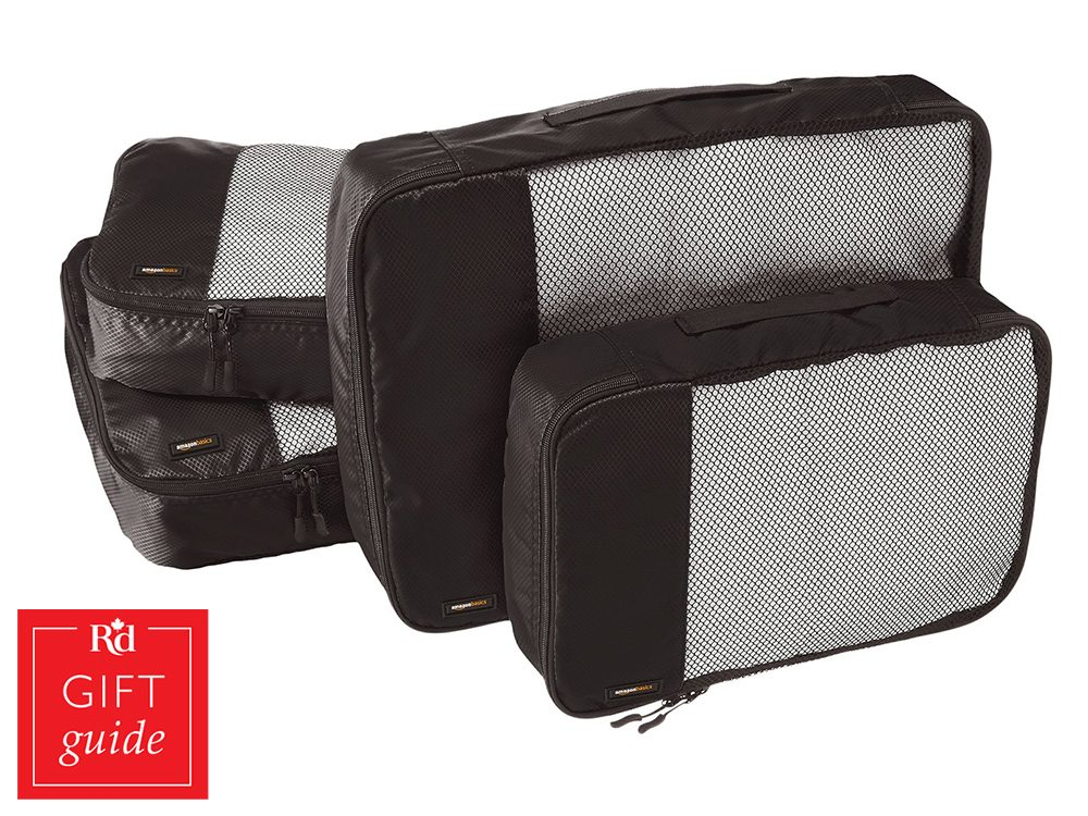 Canadian Gift Guide: Amazon Basics packing cubes