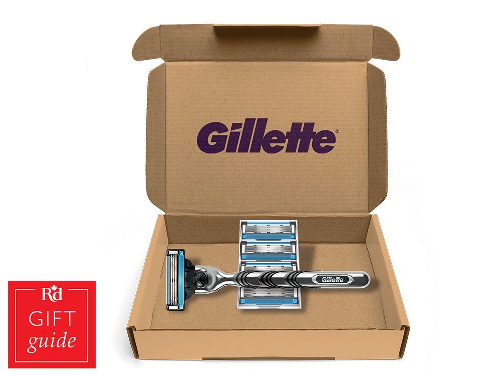 Canadian Gift Guide: Gillette on Demand