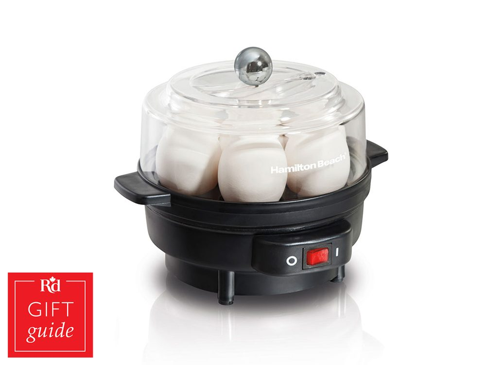 Canadian Gift Guide: Hamilton Beach egg cooker