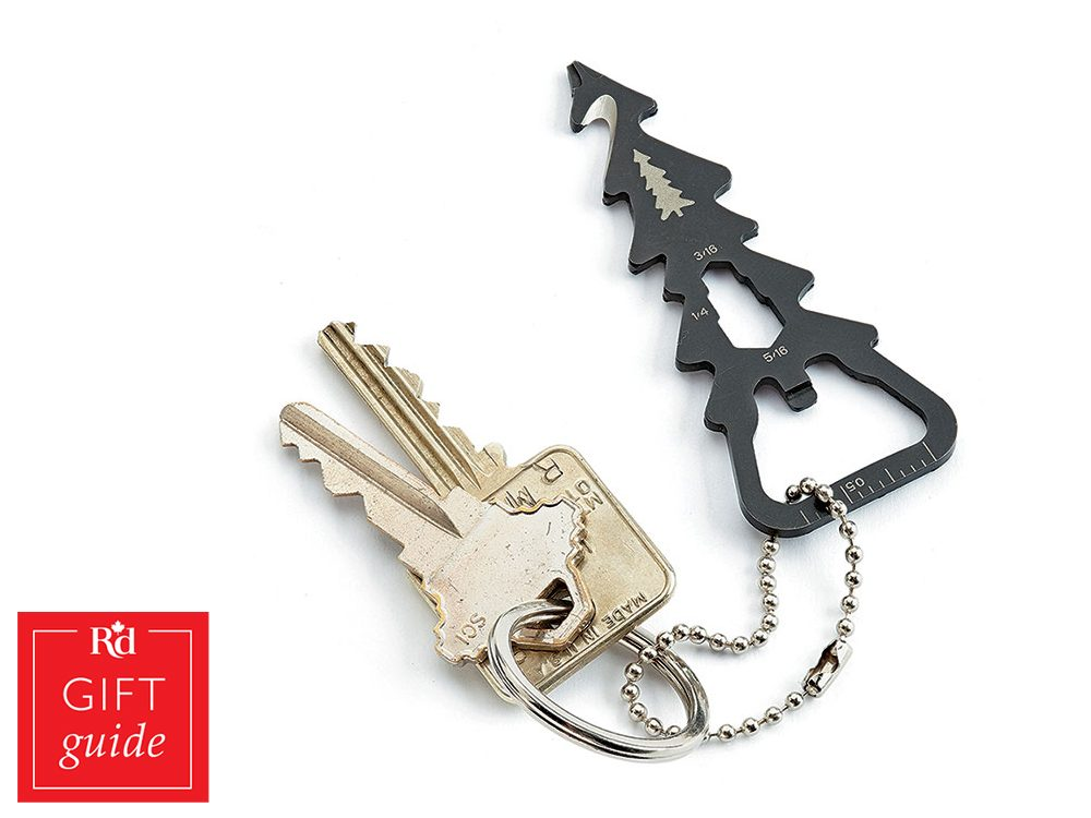 Canadian Gift Guide: Lee Valley multi-tool keychain