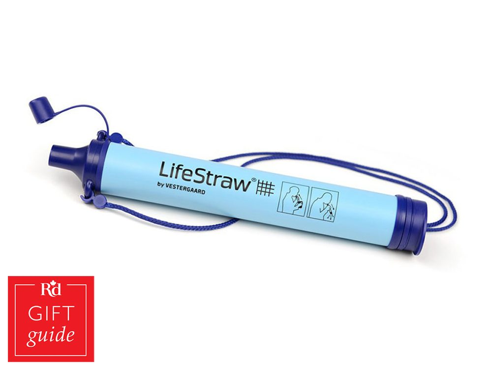 Canadian Gift Guide: LifeStraw water filter, Amazon