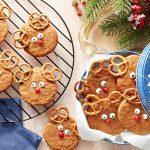 Ginger-Molasses Reindeer Cookies