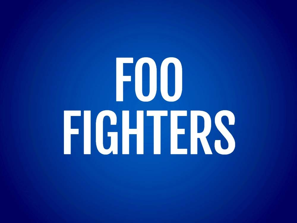 Foo Fighters text