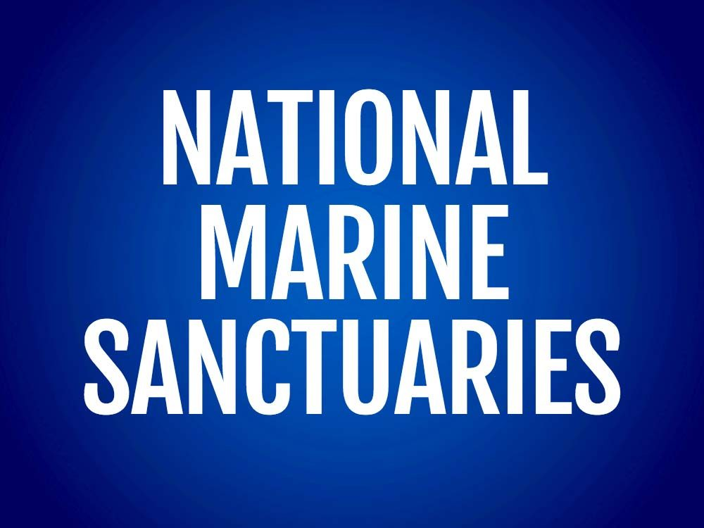 National marine sanctuaries text