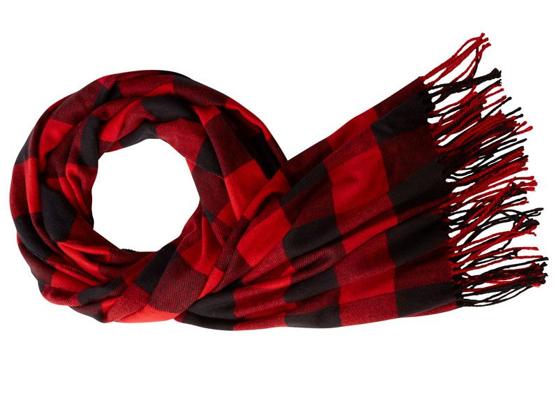 Buffalo check scarf, Chapters Indigo