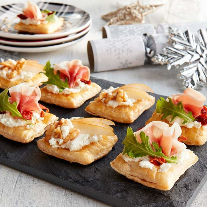 Puff Pastry Canapés