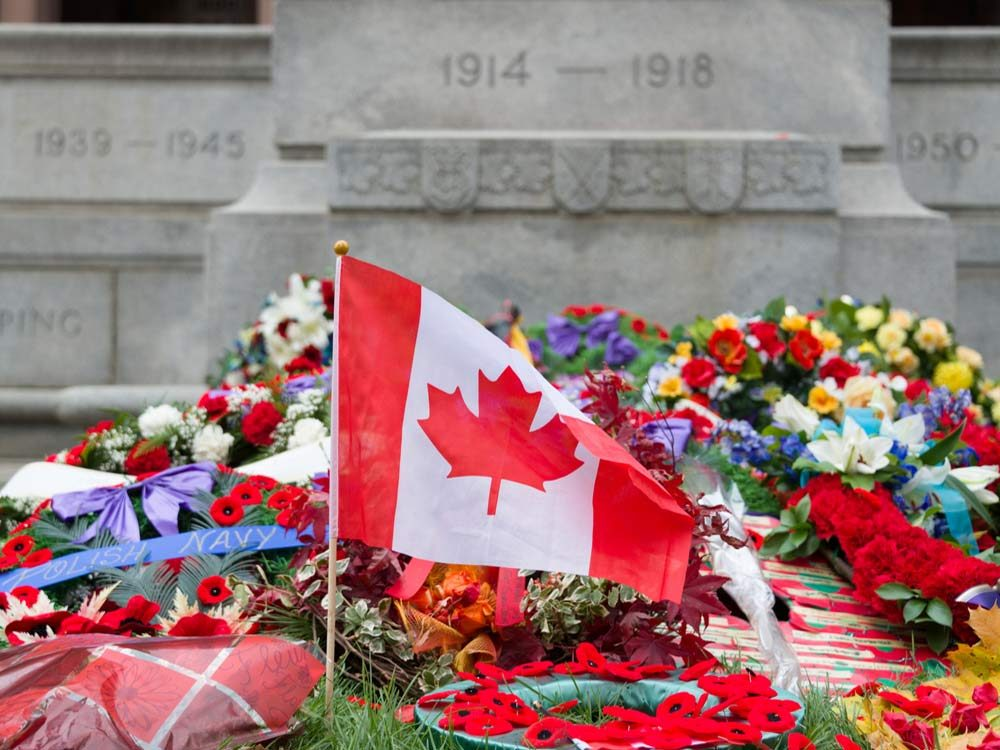 Remembrance Day at Old City Hall