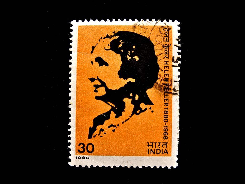 Helen Keller stamp