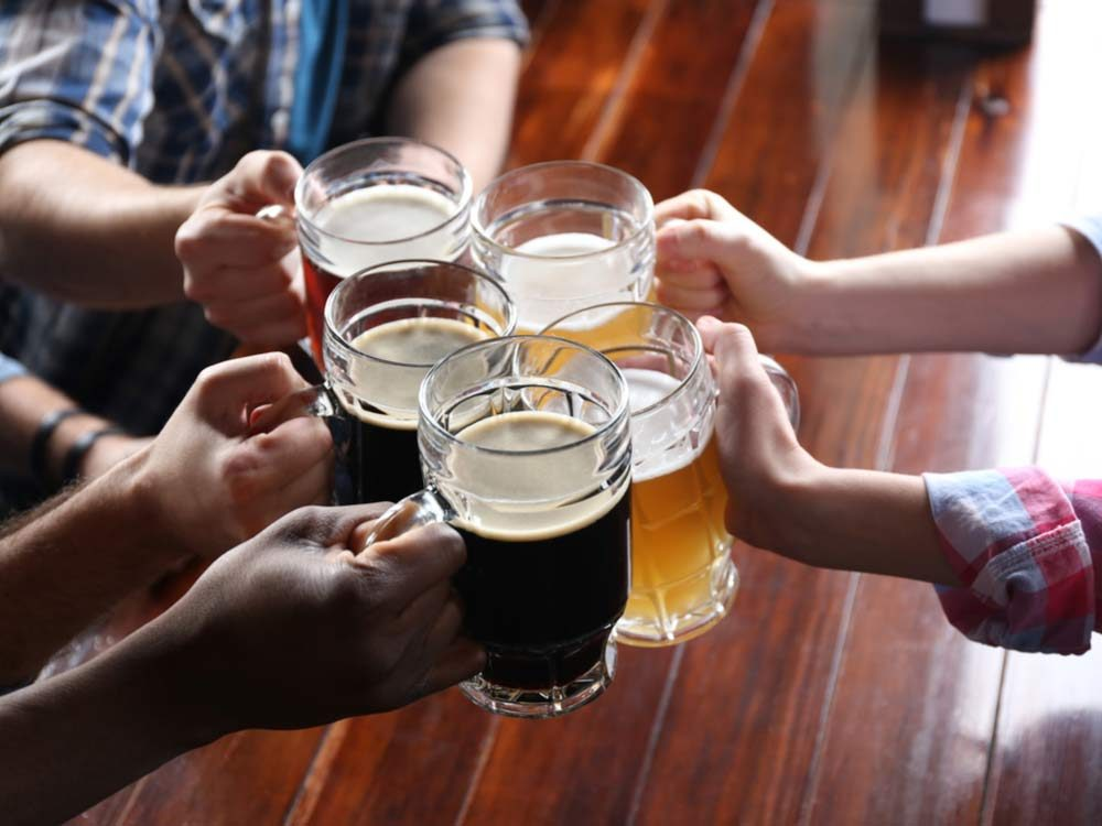 Drinking cheers
