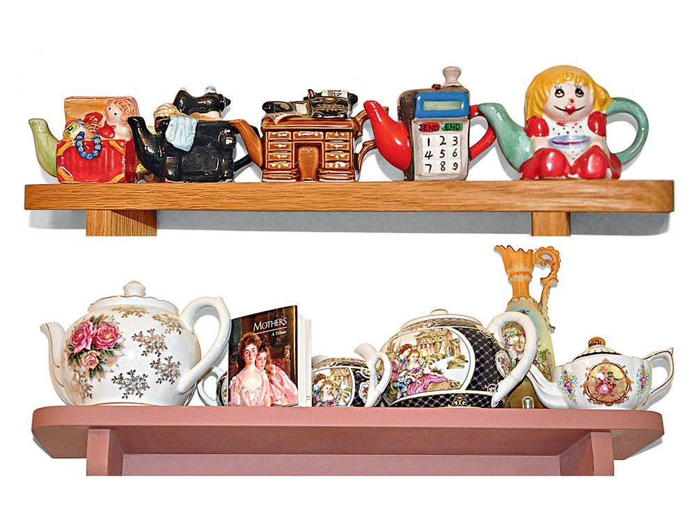 The teapot collection of Clare Smith