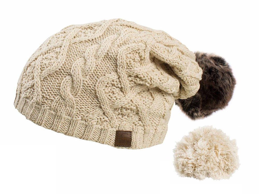 Tilley toque with interchangeable pom