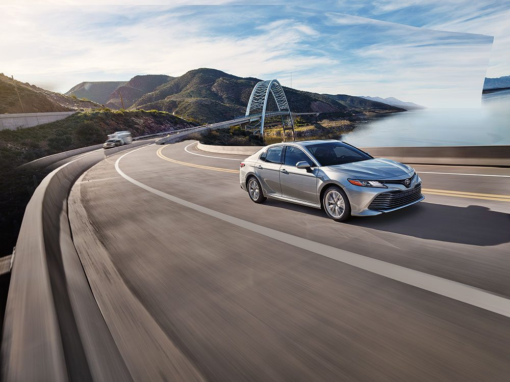Toyota Camry: A stylish new look
