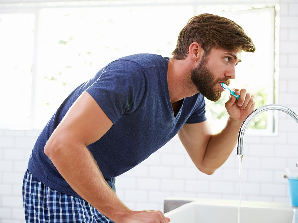 Brush your teeth like a morning person