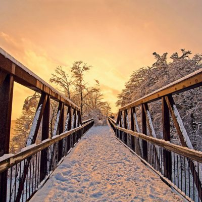 Canadian winter in Pickering, Ontario