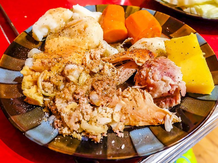 Hangover cure: Jiggs' Dinner