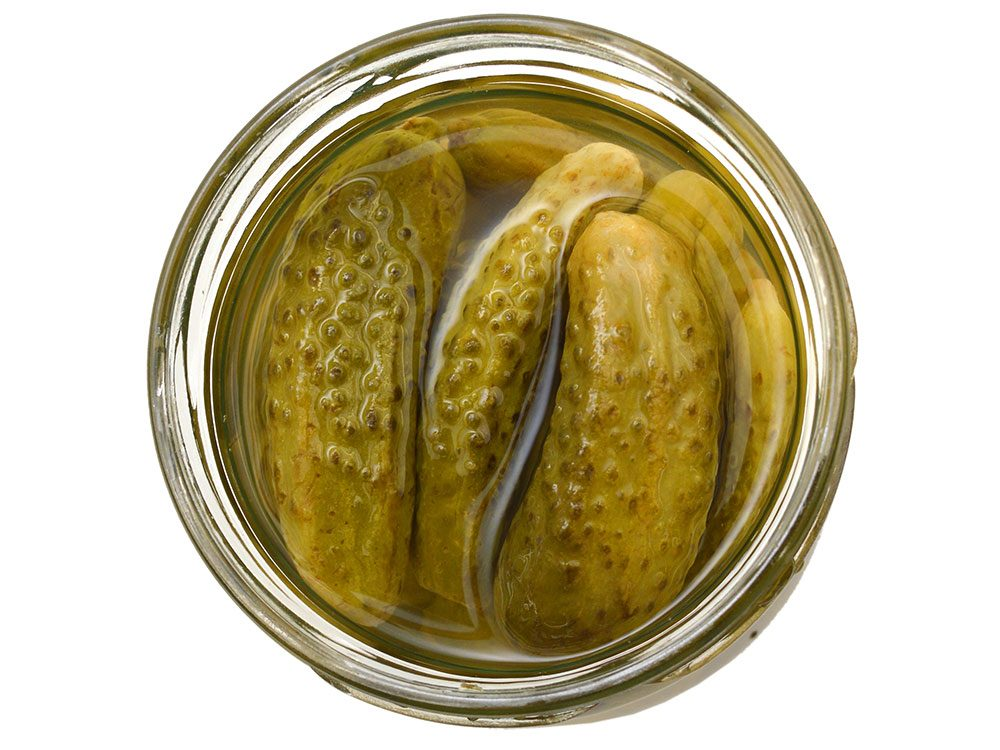 Hangover cure: Pickle juice