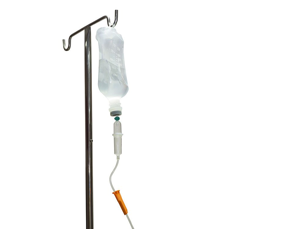 Hangover cure: Vitamin infusion