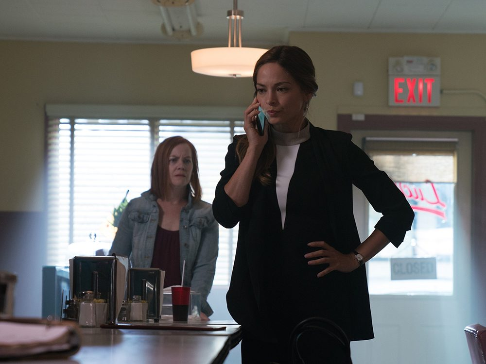 "Kristin Kreuk in ""Burden of Truth"""