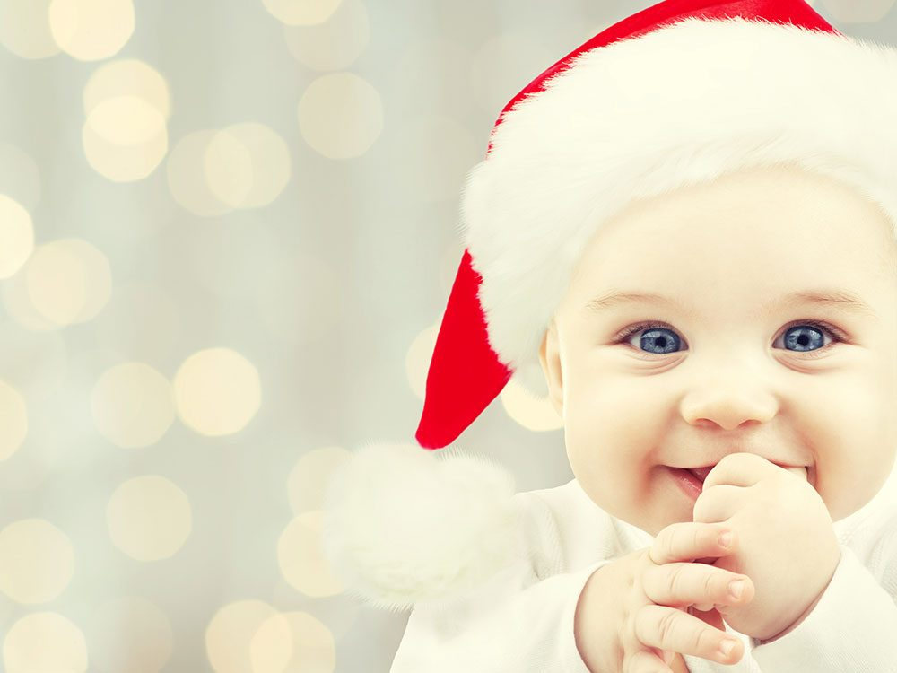 A letter to Santa, from a baby