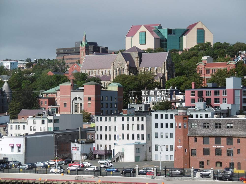 View of St. John's, Newfoundland