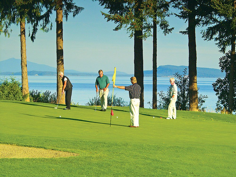 Qualicum Beach golf