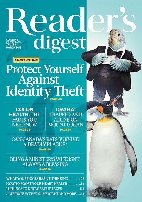 Reader's Digest March 2018