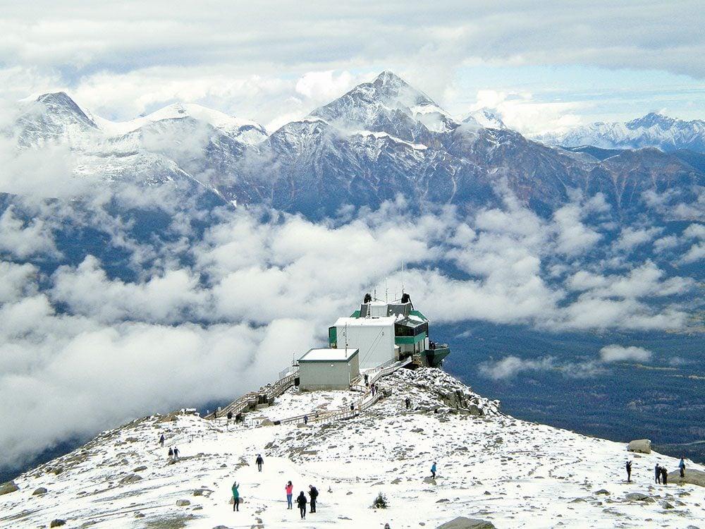 Canadian winter: Canadian Rockies