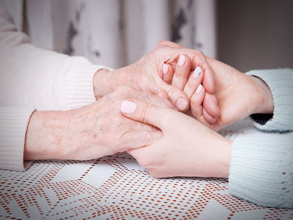 The power of touch for the elderly