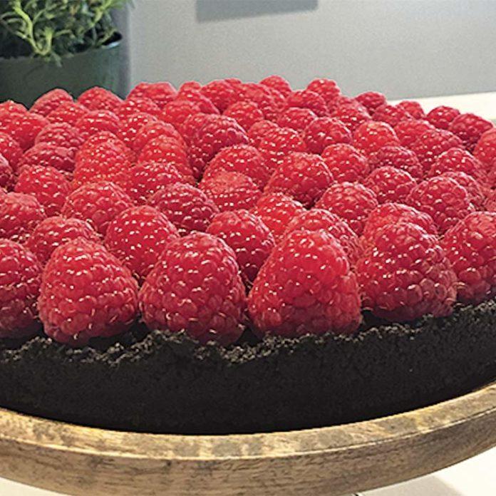 Decadent Chocolate & Raspberry Tart
