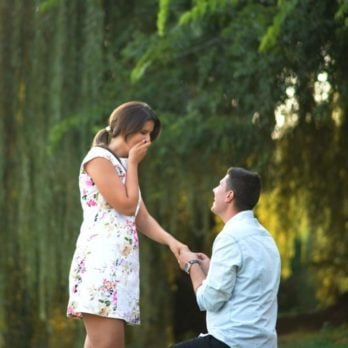 This Is Why You Get Down on One Knee to Propose
