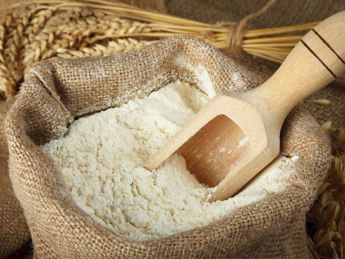 Don't eat raw flour