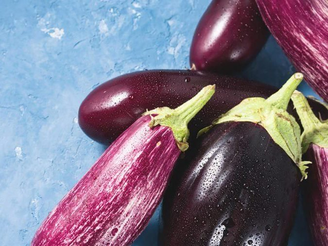 Don't eat raw eggplant