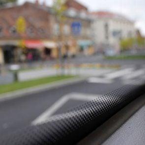 Black dots on windshields