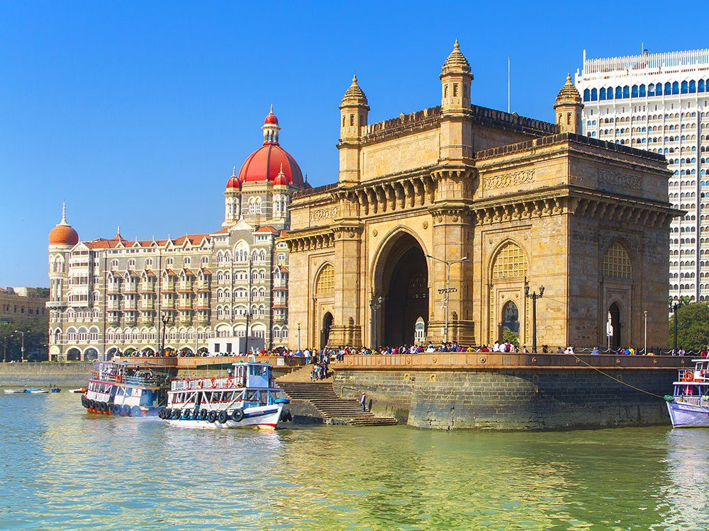 Canadian travellers to India may visit the Gateway of India in Mumbai