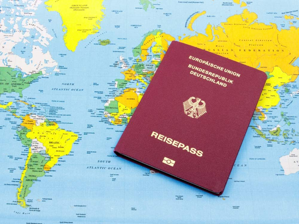 Germany's powerful passport
