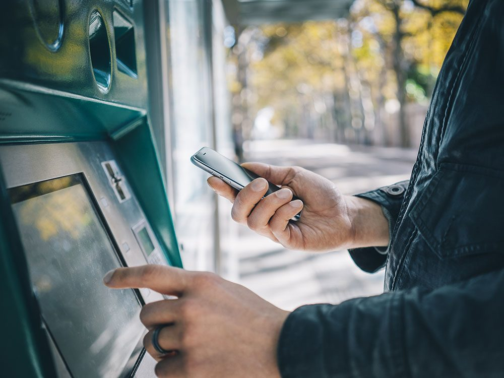 Hidden cameras in ATMs