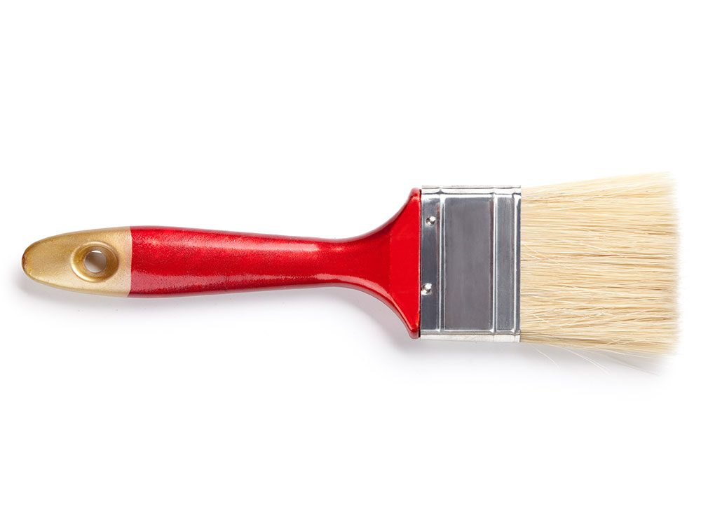 House cleaning hack: Buy a paintbrush