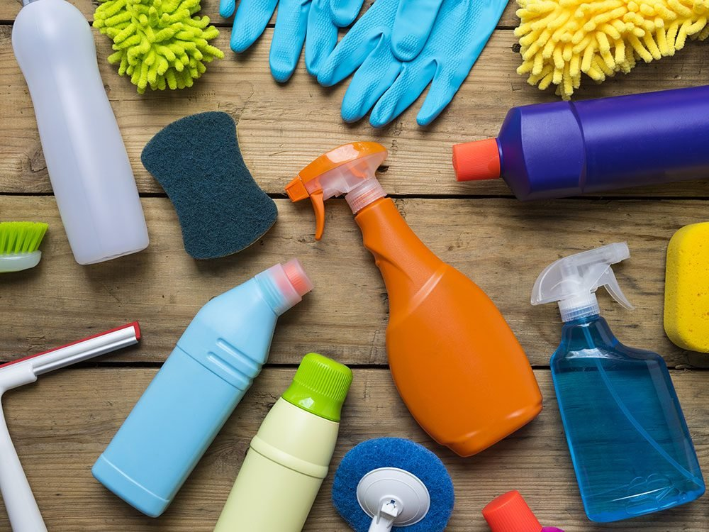 House cleaning hacks: Cleaning products