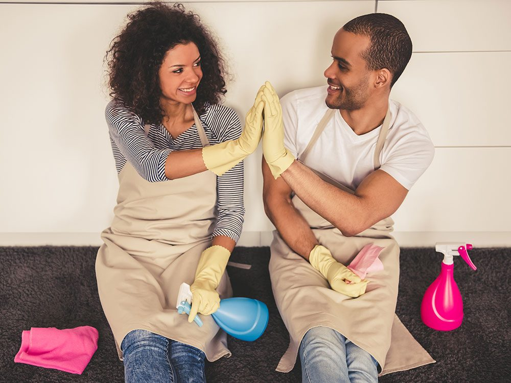 House cleaning hacks: Prioritize