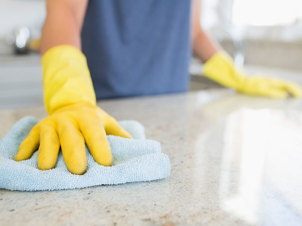 House cleaning hacks: Speed cleaning
